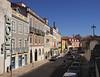 View along Rua de Sao Bento Lisbon Portugal