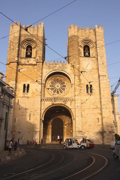 Se Cathedral Alfama Lisbon Portugal