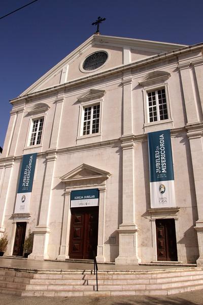 Sao Roque church Bairro Alto Lisbon Portugal