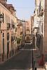 Rua Do Almada alley in Bairro Alto Lisbon Portugal