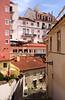 Residential buildings in Alfama Lisbon Portugal