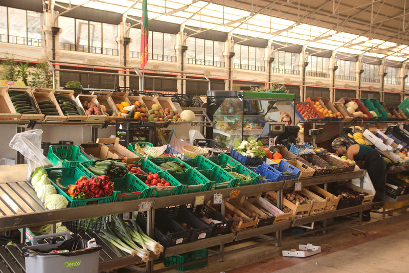 Mercado da Ribeira market Lisbon Portugal