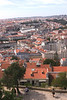 Lisbon skyline view from Castelo de Sao Jorge Portugal