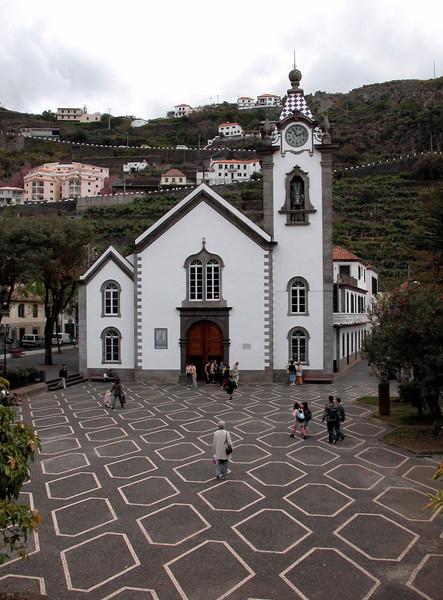 Ribeira Brava church Madeira