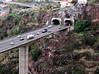 Motorway bridge at Funchal Madeira