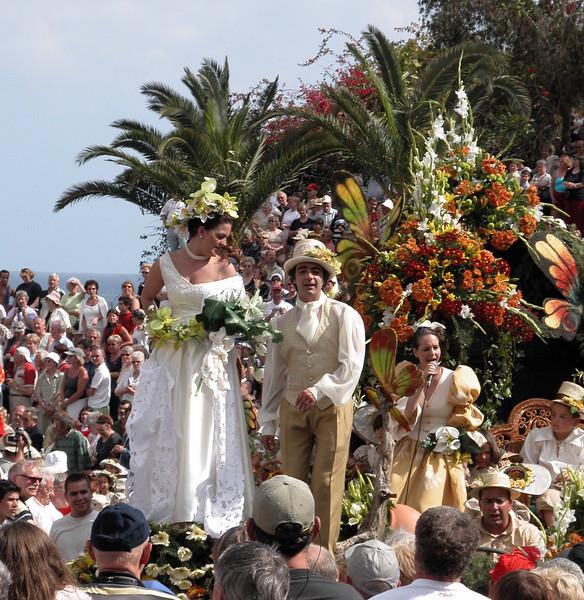Spring flower festival at Funchal Madeira 2004