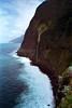 Waterfall near Seixal western Madeira