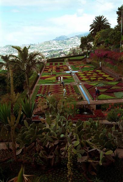 Botanical Gardens Funchal Madeira