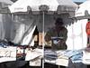 Clothes market on the Pico dos Barcelos near Funchal Madeira