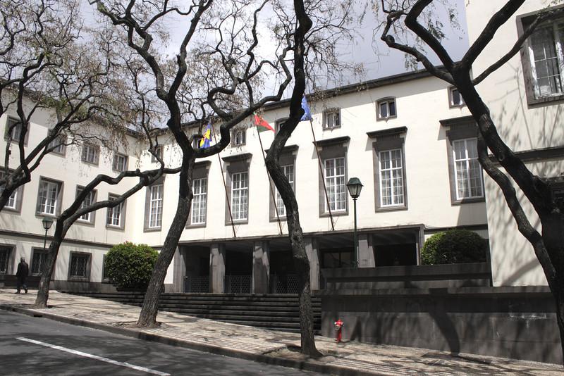 Governo Regional building Funchal Madeira