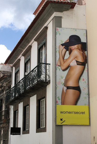 Women'secret lingerie shop Funchal Madeira