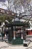 Kiosk in the Avenida Arriaga Funchal Madeira