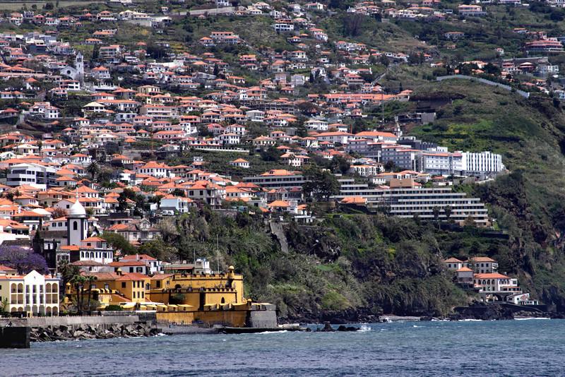Funchal Madeira and Fortaleza de Sao Tiago
