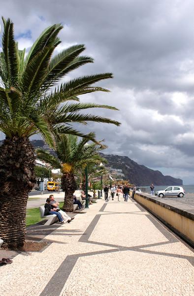 Seafront promenade Funchal Madeira