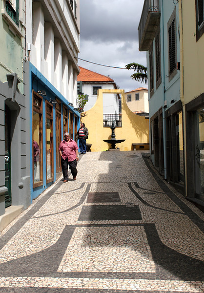 Alley in Funchal Madeira