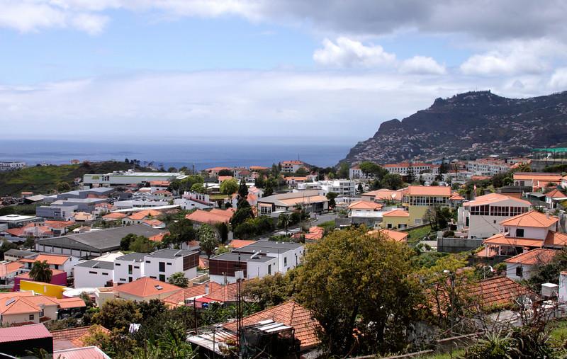 Suburb of Funchal Madeira
