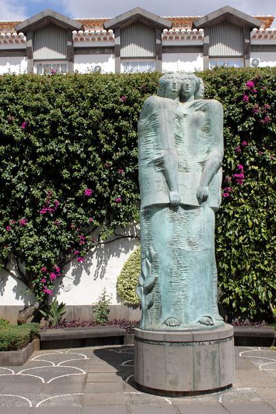 Legislative Assembly statue Funchal Madeira