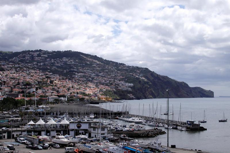 Coastline at Funchal Madeira