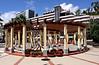Statue and columns at Royal Savoy Hotel Funchal Madeira