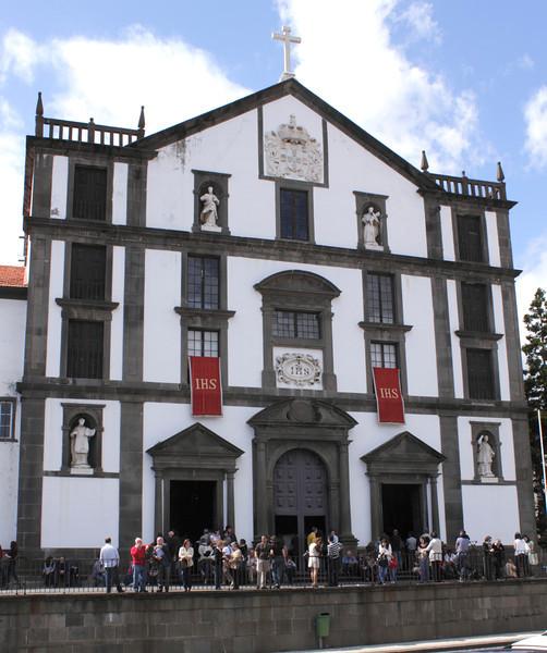 Igreja do Colegio Jesuit Church in Funchal Madeira
