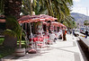 Cafe near the harbour Funchal Madeira