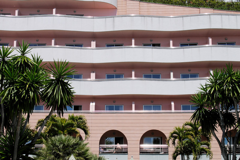 Balconies of Royal Savoy Hotel Funchal Madeira