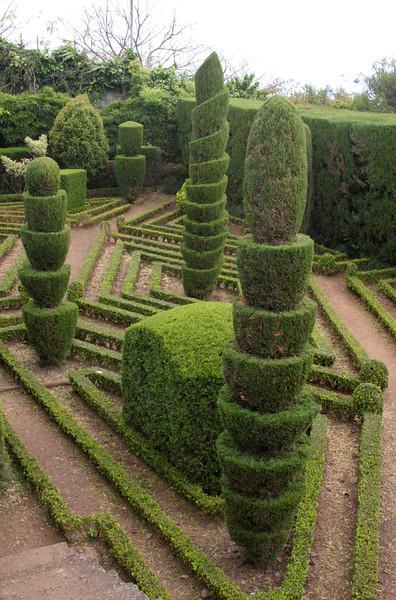 Topiary Botanical Gardens Funchal Madeira