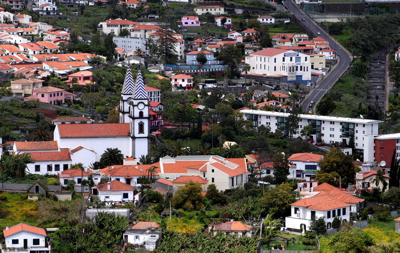 Santo Antonio Church in Funchal Madeira