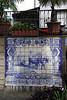 Azulejos tiled wall mural Funchal Madeira