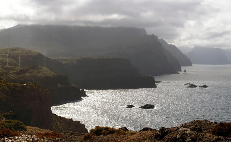 Vista on the Ponta de Sao Lourenco Madeira