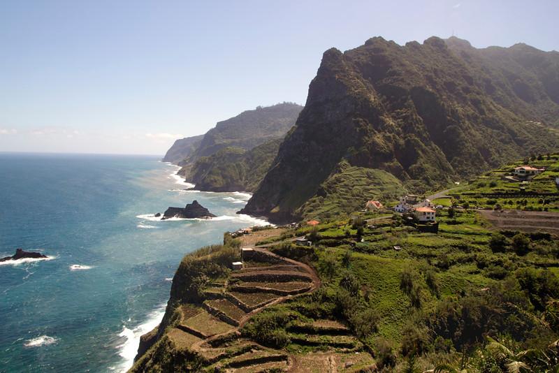 North Coast of Madeira around Boaventura village and Arco de Sao Jorge
