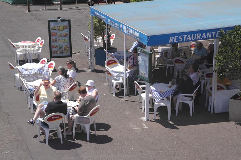 Restaurante O Barrilinho at Funchal marina Madeira
