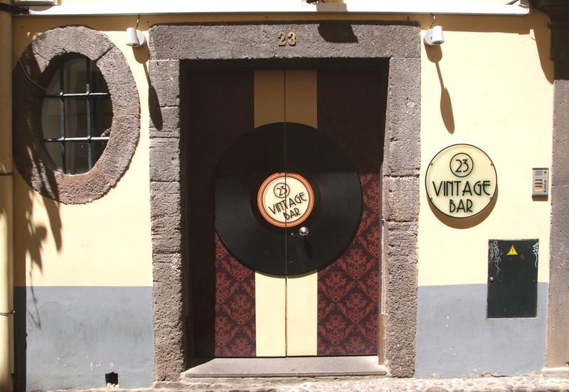 23 Vintage Bar in Rua de Santa Maria Old Town Funchal Madeira