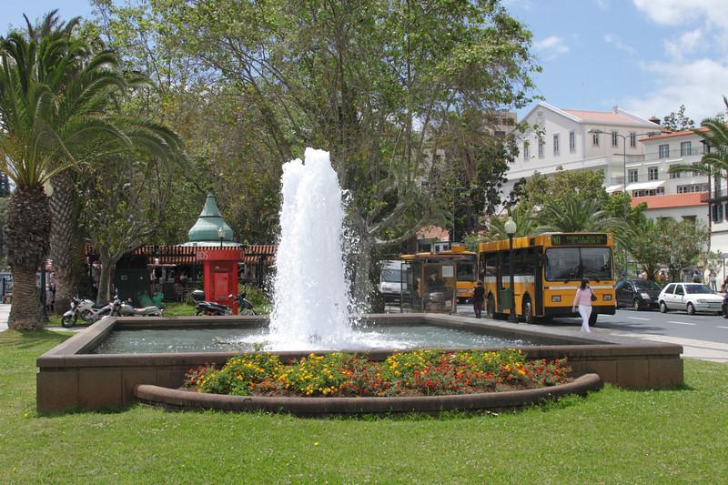 Fountain Avenida do Mar Funchal Madeira