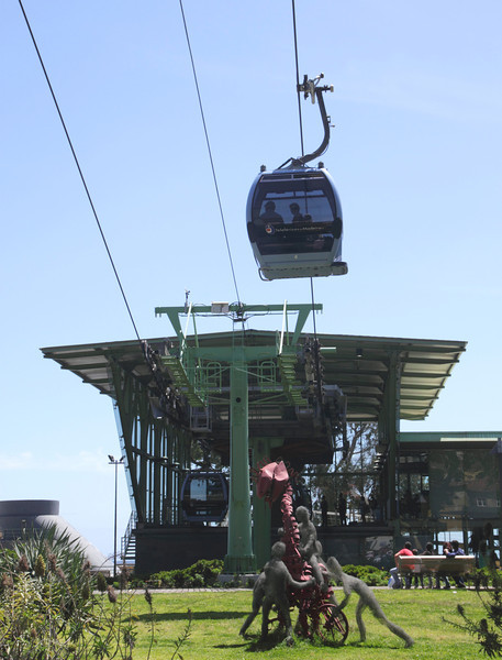 Cable Car Station Old Town Funchal Madeira