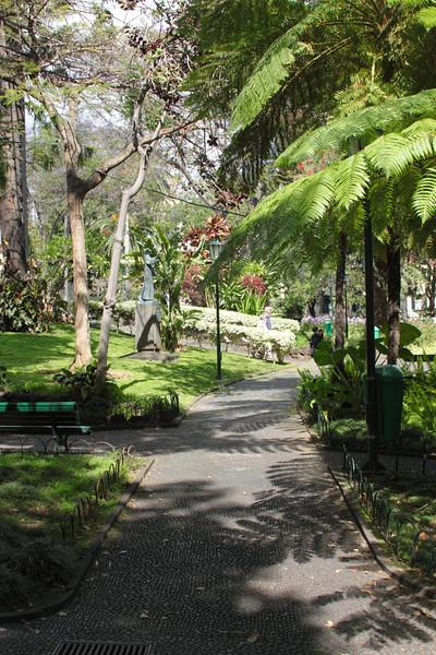 Jardim de Sao Francisco Funchal Madeira