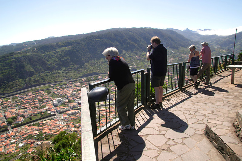 Viewpoint over Machico on the east coast of Madeira