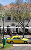 Taxi at Avenida Arriaga Funchal Madeira