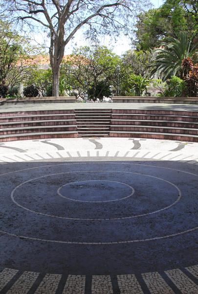 Ampitheatre at Jardim de Sao Francisco Funchal Madeira
