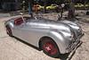 Vintage Jaguar XK120 in Avenida Arriaga Funchal Madeira