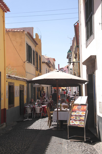 Taberna Da Esquina restaurant in Rua de Santa Maria Funchal Madeira
