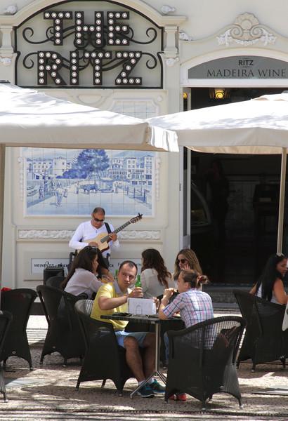 The Ritz Cafe Avenida Arriaga Funchal Madeira