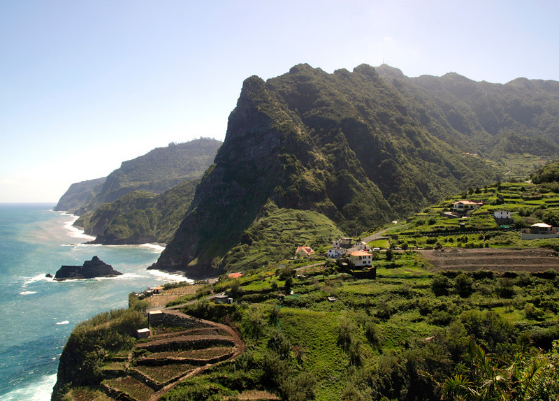 North Coast of Madeira around Boaventura village and Arco de Sao Jorge
