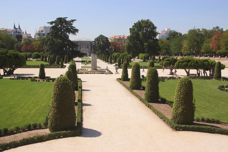 Parque del Retiro Madrid Spain