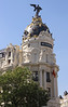 Metropolis building Madrid Spain