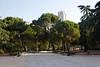 Jardines de Sabatini Madrid Spain