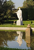 Statue in Jardines de Sabatini Madrid Spain