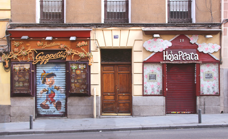 Geppetto toy store Calle Mayor Madrid Spain