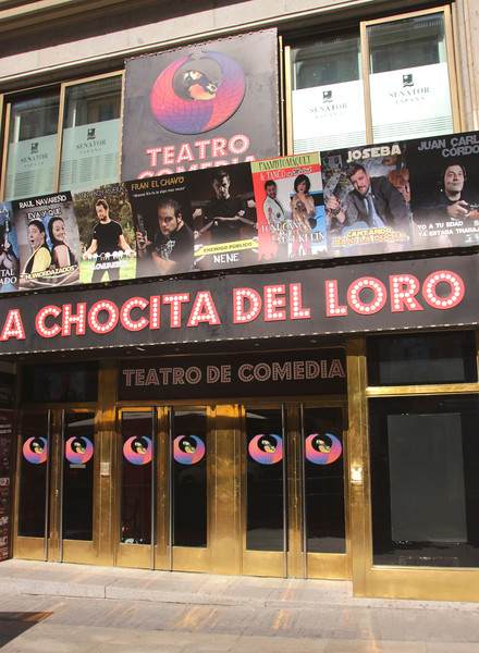 La Chocita del Loro performing arts theatre Gran Via Madrid Spain