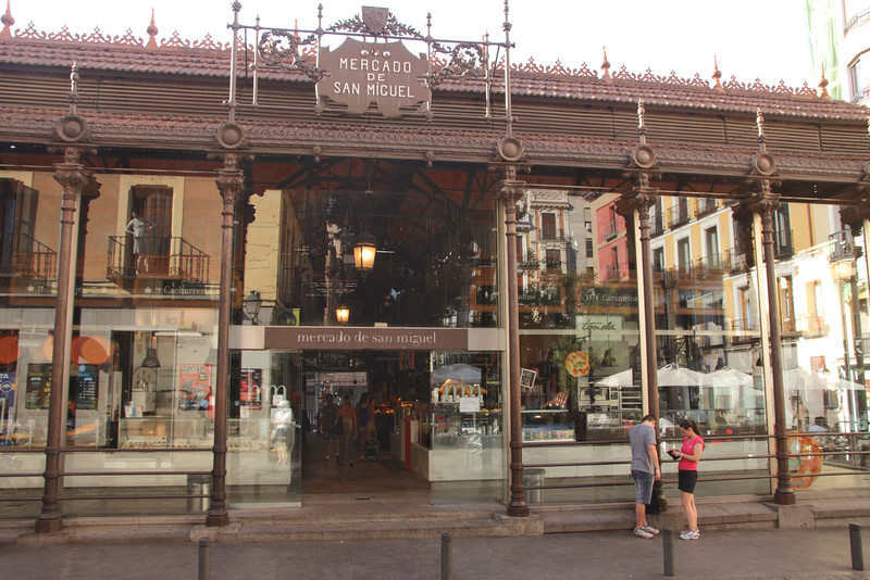 Mercado de San Miguel market Madrid Spain